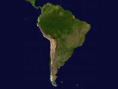 Positive South America